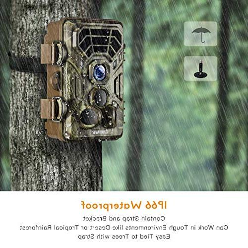 Campark Trail HD Hunting Cams Detecting Range Activated Vision Outdoor Home Security