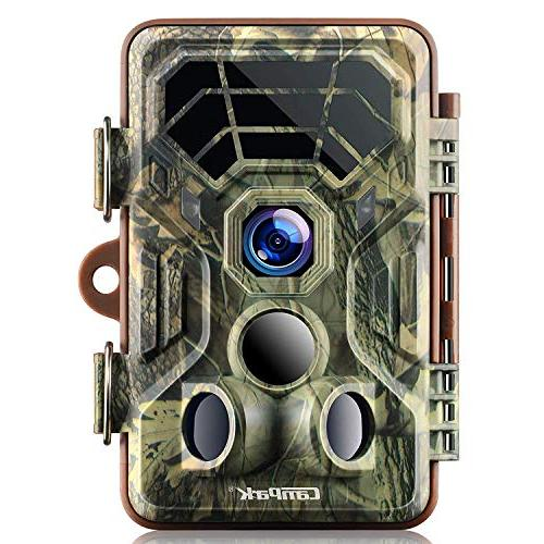 Campark HD Waterproof Wildlife Deer Hunting Cams 120° Range Activated Vision for Outdoor Field Nature Home Security