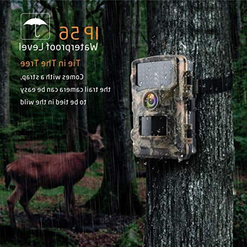 """Campark Hunting Cam 2.4"""" Color Scouting with Infrared Vision LEDs IP56"""