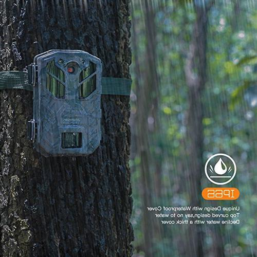 APEMAN 20MP 1080P Hunting IR for Crisp Night & Vision 65ft Wildlife Hunting and Security