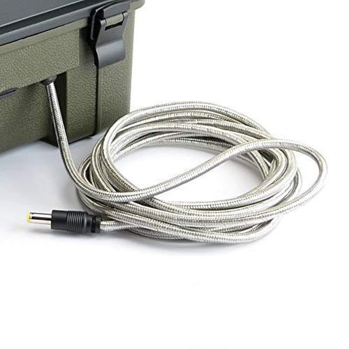 HME Trail Camera 12 Solar Auxiliary Lead Pack