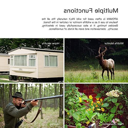 APEMAN 1080P Hunting Cameras, PCs LED Vivid Night Camera, Game for Security Wild Scouting