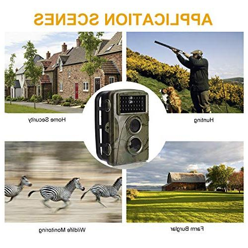 """AlfaView Trail 12MP 1080P Scouting Hunting Camera Motion Activated Night Vision 2.4"""" Hunting Home Security"""