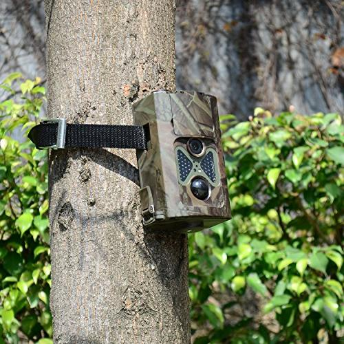 ANNKE Game Trail Hunting 1080P 48pcs LEDs Infrared Vision Outdoor Waterproof Scouting Security