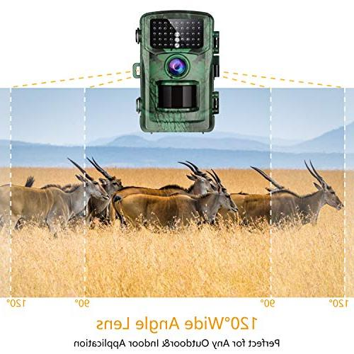 """TOGUARD Camera 1080P with Night 2.4"""" Night Vision Deer Design Wildlife Monitoring and Home"""