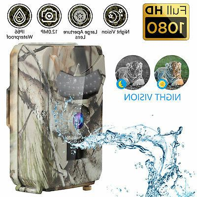 12mp trail camera hd 1080p hunt game