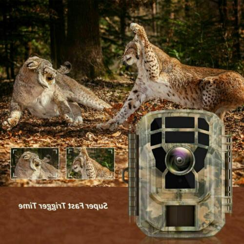 Campark 1080P HD Hunting Cam LCD IR LEDs