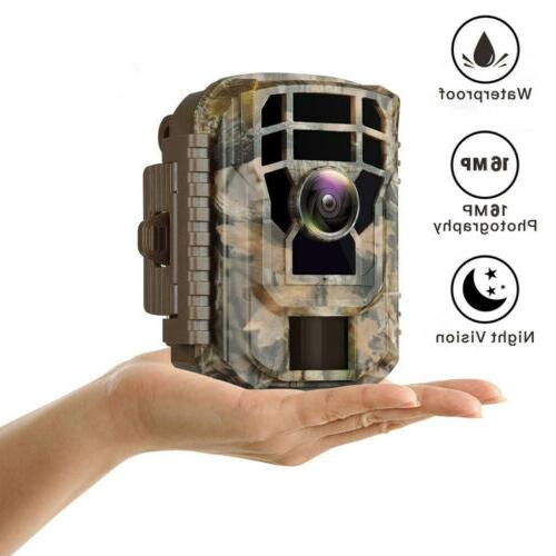 Campark Trail Camera 12MP Wildlife Game Cam Scouting Hunting