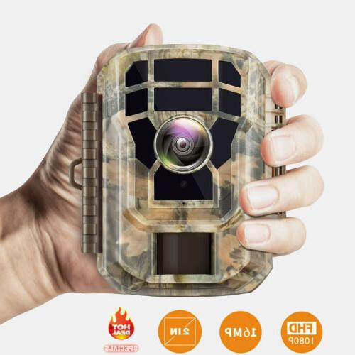 Campark Wildlife 16MP Hunting Cam 2'' LCD IR