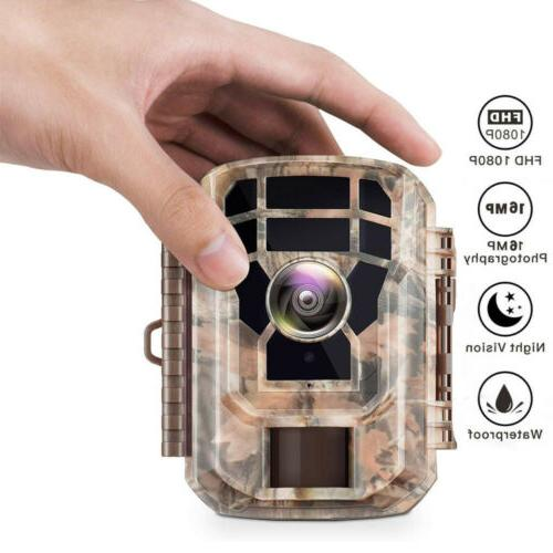 Campark Wildlife 1080P HD Hunting Cam 2'' IR LEDs
