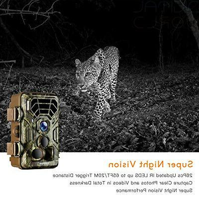 Campark Wildlife Trail 1080P Game Camera Activated Vision