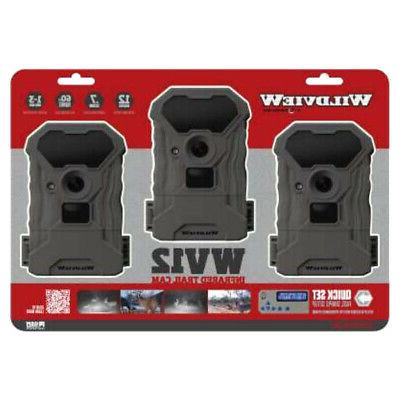 wv12 infrared trail cam 3 pack