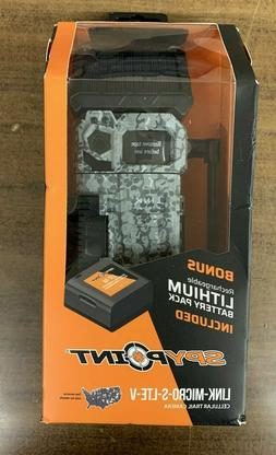 SPYPOINT LINK MICRO S LTE V TRAIL CAMERA W/ LITHUM BATTERY L