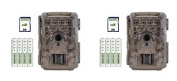 Moultrie M-4000i Invisible 16 MP Game Trail Camera Bundle -