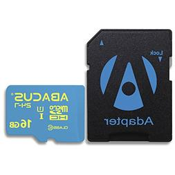 Abacus24-7 16GB Memory Card for Bestguarder DTC-880V, Browni