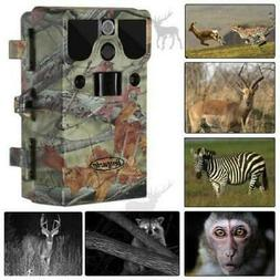 NEW 12MP Infrared HD Waterproof Game & Trail Hunting Scoutin