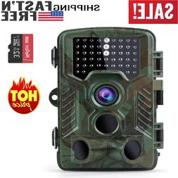 NEW 2019 16MP 1080P Trail Game Camera breakthrought night vi