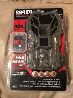 NEW Stealth Cam PXP22 22MP Trail Camera w/ Batteries & SD Ca