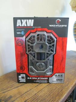 New! Stealth Cam WXA AT&T Cellular 22MP HD Video Trail Game