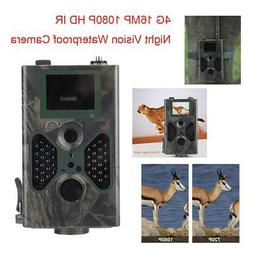 Outdoor Sport 1080P 4G 16MP Infrared Trail Camera Night Visi