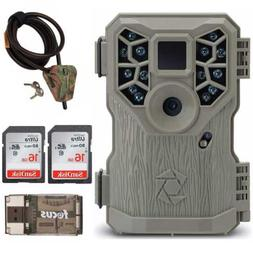 Stealth Cam PX14X P 10MP Trail Game Camera with Cable and 16