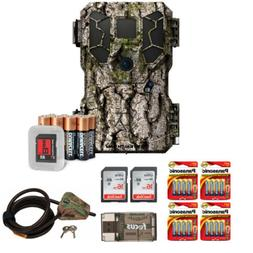 Stealth Cam PX18 14MP/Video Camo Trail Camera w/ 2 SD Cards&