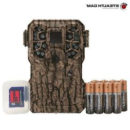 Stealth Cam PX18C 8 MP Trail Camera Combo w/Batts & SD Card-