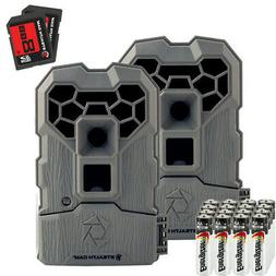 Stealth Cam QS14 FX Shield 14MP Hunting Trail Cam - 2 Pack C