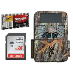 Browning Recon Force 4K Trail Game Camera COMPLETE PACKAGE