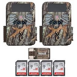 Browning Recon Force 1080p 4K Video, 32MP Trail Camera 2-Pac