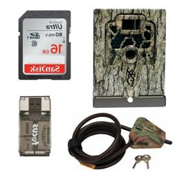 Browning Trail Cameras Security Box + Python Cable Lock + 16