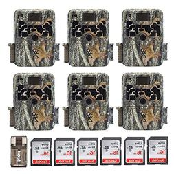Six Browning Dark OPS HD 940 Micro Trail Game Cameras    BTC