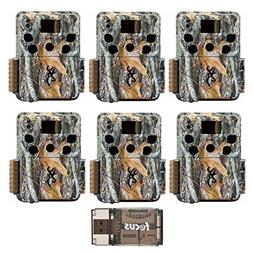 Six Browning Dark Ops HD Pro Trail Cameras  with Focus Camer