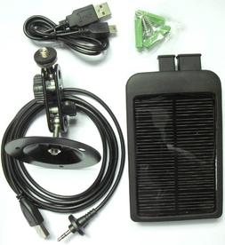 ScoutGuard 6V Solar Charger for Outdoor Game Camera or Other