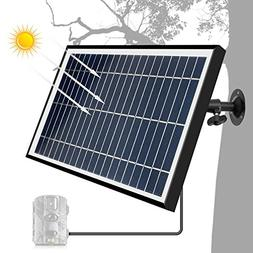 ARTITAN Solar Panel 12V 5W Charger for Trail Game Camera IP5