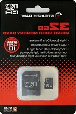 Stealth Cam 32GB STC-32MICSD Micro SD Card High Speed Data T