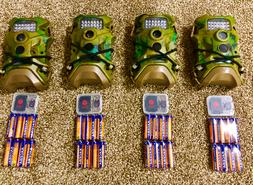 Terra 12 EXTREME Trail Camera lot of 4 W/ SD cards / Batteri