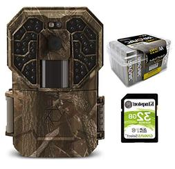 Stealth Cam Trail Camera Bundle 3 Items G45NG + AA Battery 2