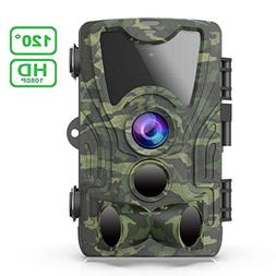 FHDCAM Trail Camera, Scouting Hunting Cam with Motion Activa