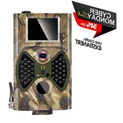 Trail Camera, 2018 Upgraded Distianert 720P 12MP Hunting Gam