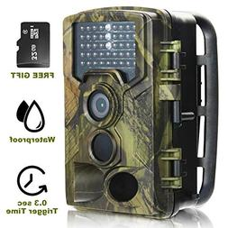 Trail Camera- Game Deer Wildlife Hunting Scouting Cam- Night