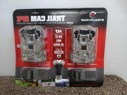 Stealth Cam Trail Cam XS16 2-Pack Combo w/4-in-1 SD Card Rea