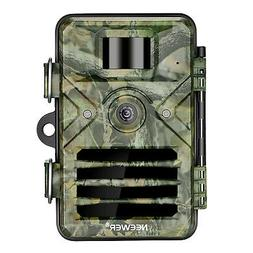Neewer Trail Camera 1080P HD Outdoor Game Hunting Cam for Wi