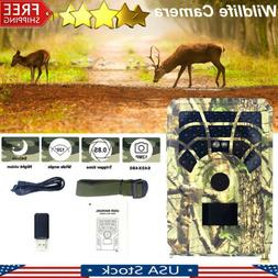 Trail Camera 120° PIR Sensor Angle Infrared Night Vision Wi