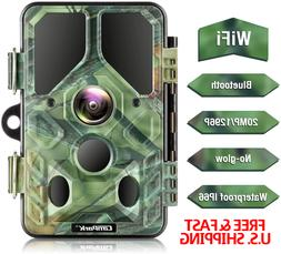 TRAIL CAMERA KIT 1296 HD Video No Glow Infrared Night Vision