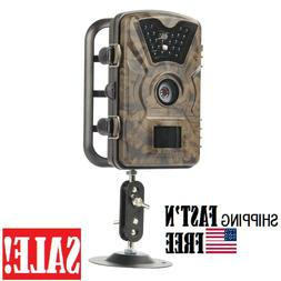 "Hiram Trail Camera 12MP 1080P 2.4"" LCD Hunting & Game Camera"