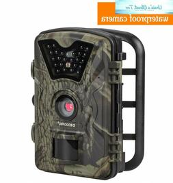 ECOOPRO Trail Camera 12MP 1080P HD Game Hunting 65ft Infrare