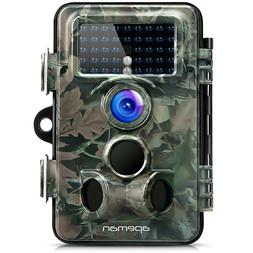 APEMAN Trail Camera 12MP 1080P HD Game&Hunting with 130° Wi