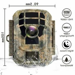 Trail Camera 12MP Deer Security Camera Hunting Stealth Cam I