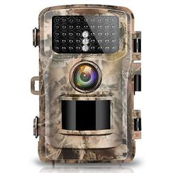 """Campark Trail Camera 14MP 1080P 2.4"""" LCD Game  Hunting Camer"""